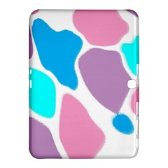 Baby Pink Girl Party Pattern Colorful Background Art Digital Samsung Galaxy Tab 4 (10 1 ) Hardshell Case