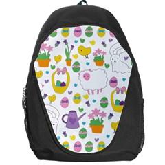 Cute Easter pattern Backpack Bag