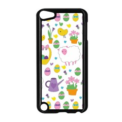 Cute Easter pattern Apple iPod Touch 5 Case (Black)