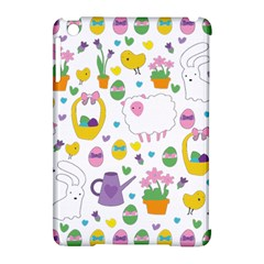 Cute Easter pattern Apple iPad Mini Hardshell Case (Compatible with Smart Cover)