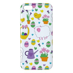 Cute Easter pattern Apple iPhone 5 Premium Hardshell Case