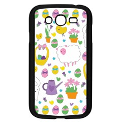 Cute Easter pattern Samsung Galaxy Grand DUOS I9082 Case (Black)