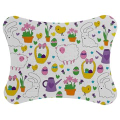 Cute Easter pattern Jigsaw Puzzle Photo Stand (Bow)