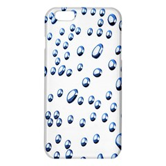 Water Drops On White Background Iphone 6 Plus/6s Plus Tpu Case