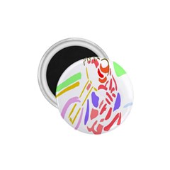 Motorcycle Racing The Slip Motorcycle 1.75  Magnets