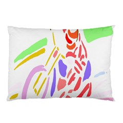 Motorcycle Racing The Slip Motorcycle Pillow Case