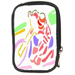 Motorcycle Racing The Slip Motorcycle Compact Camera Cases