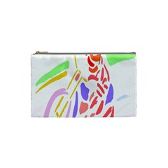 Motorcycle Racing The Slip Motorcycle Cosmetic Bag (small)
