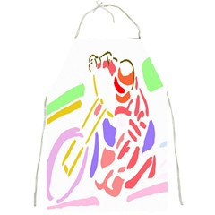 Motorcycle Racing The Slip Motorcycle Full Print Aprons