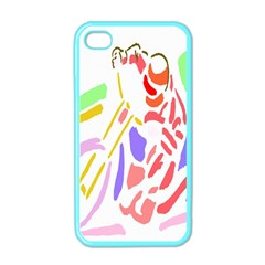 Motorcycle Racing The Slip Motorcycle Apple iPhone 4 Case (Color)
