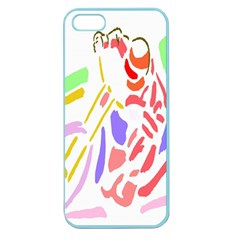 Motorcycle Racing The Slip Motorcycle Apple Seamless Iphone 5 Case (color)