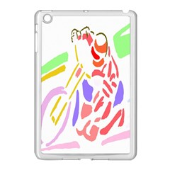 Motorcycle Racing The Slip Motorcycle Apple Ipad Mini Case (white)