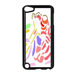 Motorcycle Racing The Slip Motorcycle Apple iPod Touch 5 Case (Black)