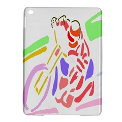 Motorcycle Racing The Slip Motorcycle iPad Air 2 Hardshell Cases