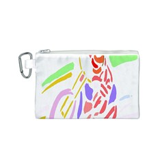Motorcycle Racing The Slip Motorcycle Canvas Cosmetic Bag (S)