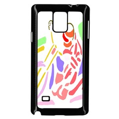 Motorcycle Racing The Slip Motorcycle Samsung Galaxy Note 4 Case (black)