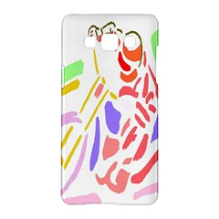 Motorcycle Racing The Slip Motorcycle Samsung Galaxy A5 Hardshell Case