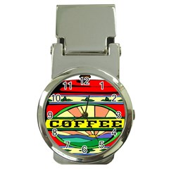 Coffee Tin A Classic Illustration Money Clip Watches