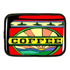Coffee Tin A Classic Illustration Netbook Case (Medium)
