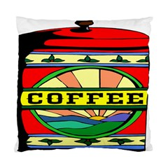 Coffee Tin A Classic Illustration Standard Cushion Case (One Side)
