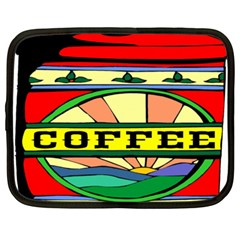 Coffee Tin A Classic Illustration Netbook Case (XXL)