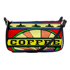 Coffee Tin A Classic Illustration Shoulder Clutch Bags
