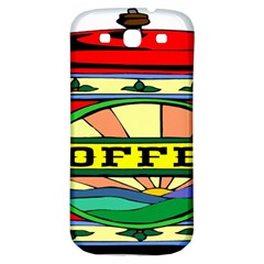 Coffee Tin A Classic Illustration Samsung Galaxy S3 S III Classic Hardshell Back Case