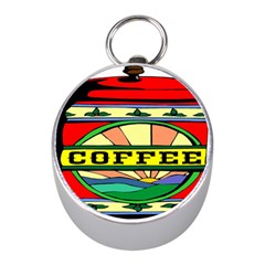 Coffee Tin A Classic Illustration Mini Silver Compasses