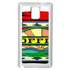 Coffee Tin A Classic Illustration Samsung Galaxy Note 4 Case (white)