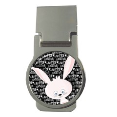 Easter bunny  Money Clips (Round)