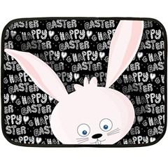Easter bunny  Double Sided Fleece Blanket (Mini)