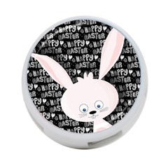 Easter bunny  4-Port USB Hub (One Side)