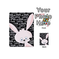 Easter bunny  Playing Cards 54 (Mini)