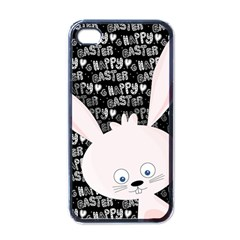 Easter bunny  Apple iPhone 4 Case (Black)
