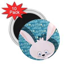 Easter bunny  2.25  Magnets (10 pack)