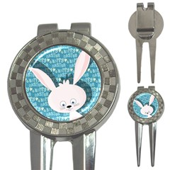 Easter bunny  3-in-1 Golf Divots