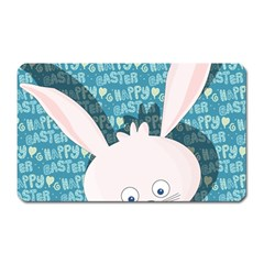 Easter bunny  Magnet (Rectangular)
