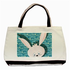 Easter bunny  Basic Tote Bag (Two Sides)