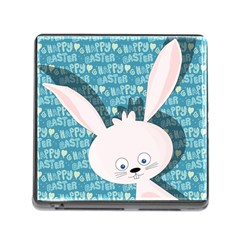 Easter bunny  Memory Card Reader (Square)
