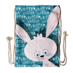 Easter bunny  Drawstring Bag (Large)