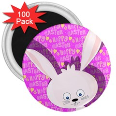 Easter bunny  3  Magnets (100 pack)