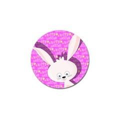 Easter bunny  Golf Ball Marker (4 pack)