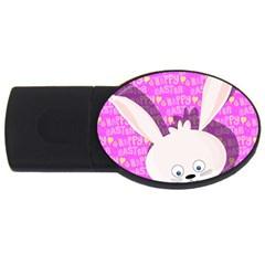 Easter bunny  USB Flash Drive Oval (4 GB)