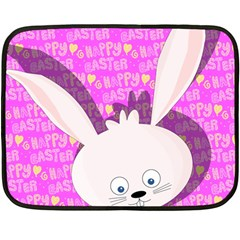 Easter bunny  Double Sided Fleece Blanket (Mini)
