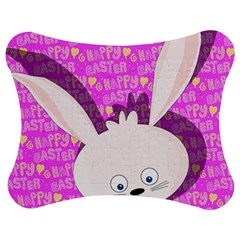 Easter bunny  Jigsaw Puzzle Photo Stand (Bow)