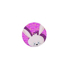 Easter bunny  1  Mini Buttons