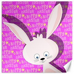 Easter bunny  Canvas 12  x 12