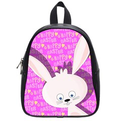 Easter bunny  School Bags (Small)