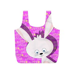 Easter bunny  Full Print Recycle Bags (S)