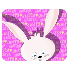 Easter bunny  Double Sided Flano Blanket (Medium)